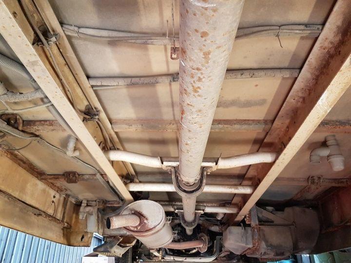 Camion porteur Renault Mascott Magasin - Vente detail 110.60 - Permis POIDS LOURDS BLANC - VERT - 21