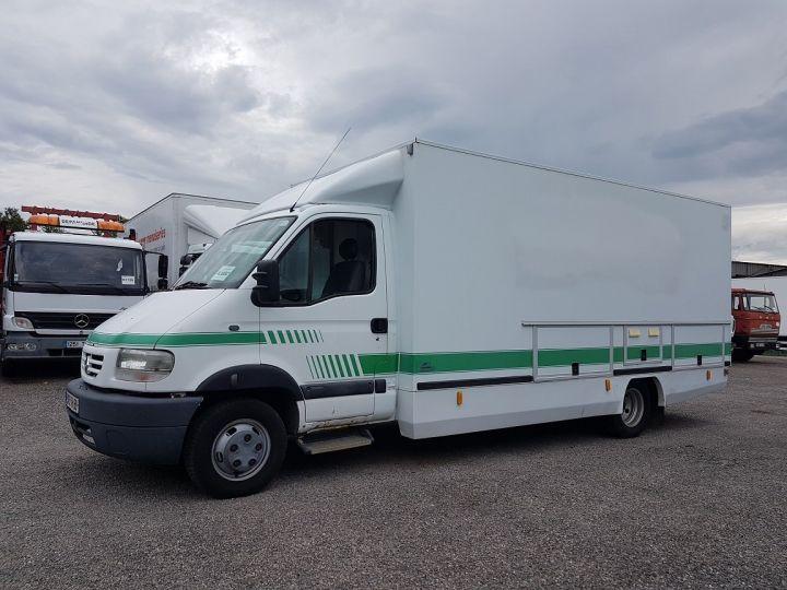 Camion porteur Renault Mascott Magasin - Vente detail 110.60 - Permis POIDS LOURDS BLANC - VERT - 1