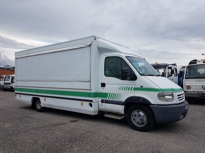 Camion porteur Renault Mascott Magasin - Vente detail 110.60 - Permis POIDS LOURDS BLANC - VERT - 7