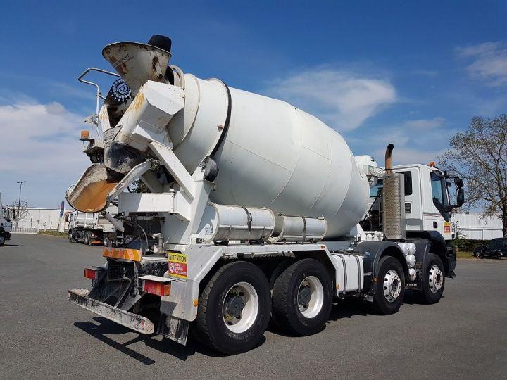 Camion porteur Iveco Trakker Malaxeur 410 8x4 - IMER 8.5m3 BLANC - 2