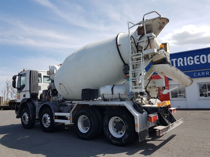 Camion porteur Iveco Trakker Malaxeur 410 8x4 - IMER 8.5m3 BLANC - 4