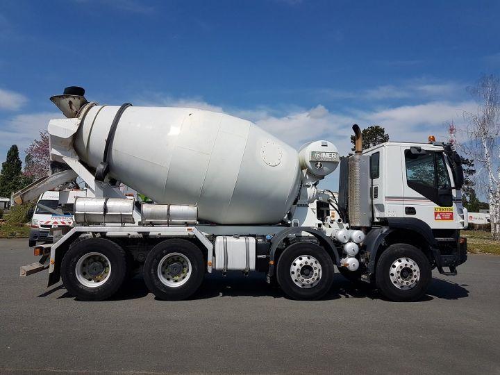 Camion porteur Iveco Trakker Malaxeur 410 8x4 - IMER 8.5m3 BLANC - 6