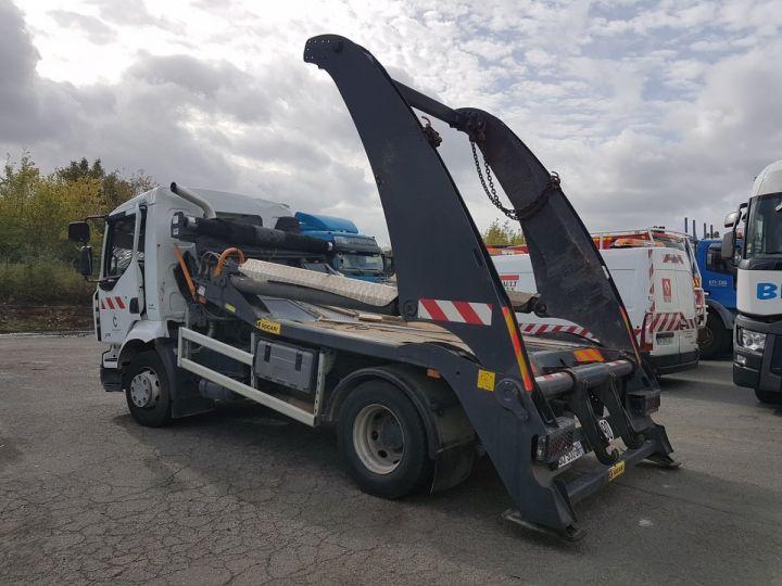 Camion porteur Renault Midlum Multibenne 220dxi.16 - Accidenté BLANC Occasion - 4