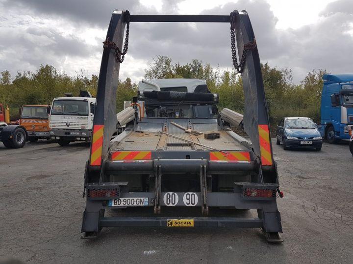 Camion porteur Renault Midlum Multibenne 220dxi.16 - Accidenté BLANC Occasion - 5