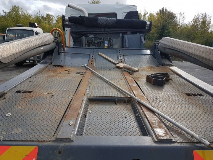 Camion porteur Renault Midlum Multibenne 220dxi.16 - Accidenté BLANC Occasion - 6