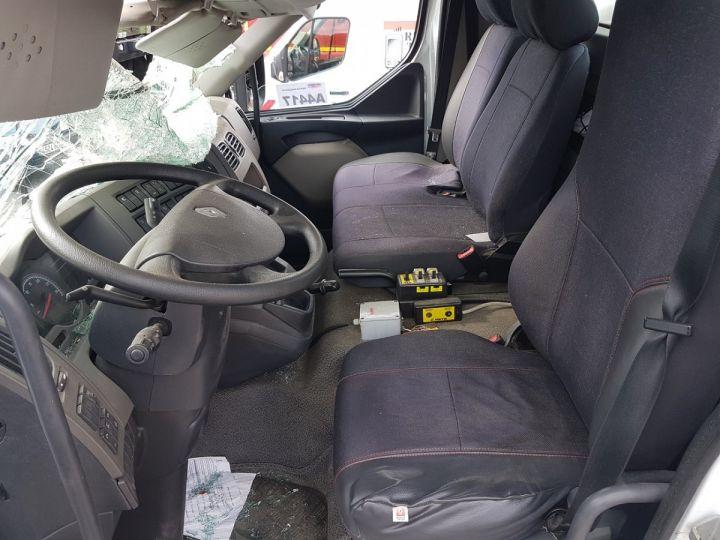 Camion porteur Renault Midlum Multibenne 220dxi.16 - Accidenté BLANC Occasion - 13
