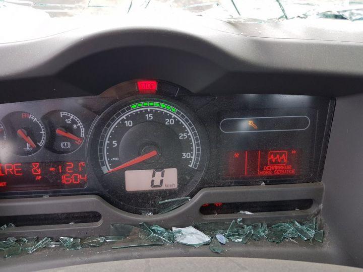 Camion porteur Renault Midlum Multibenne 220dxi.16 - Accidenté BLANC Occasion - 19