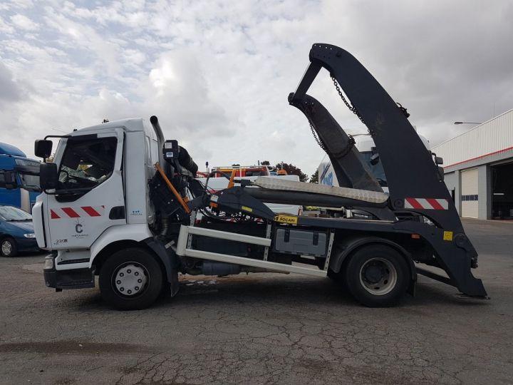 Camion porteur Renault Midlum Multibenne 220dxi.16 - Accidenté BLANC Occasion - 21