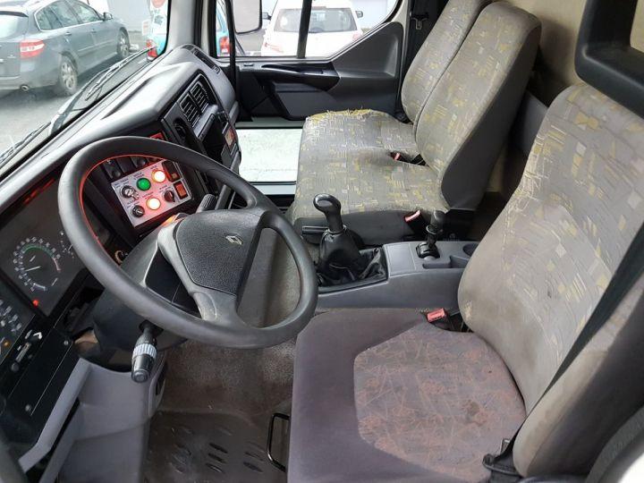 Camion porteur Renault Midlum Nacelle élévatrice 180.13C EGI 17 m. BLANC Occasion - 13
