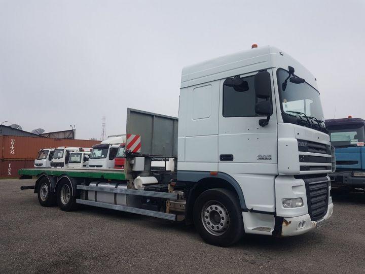 Camion porteur Daf XF105 Plateau 510 6x2/4 SPACECAB BLANC et VERT - 3