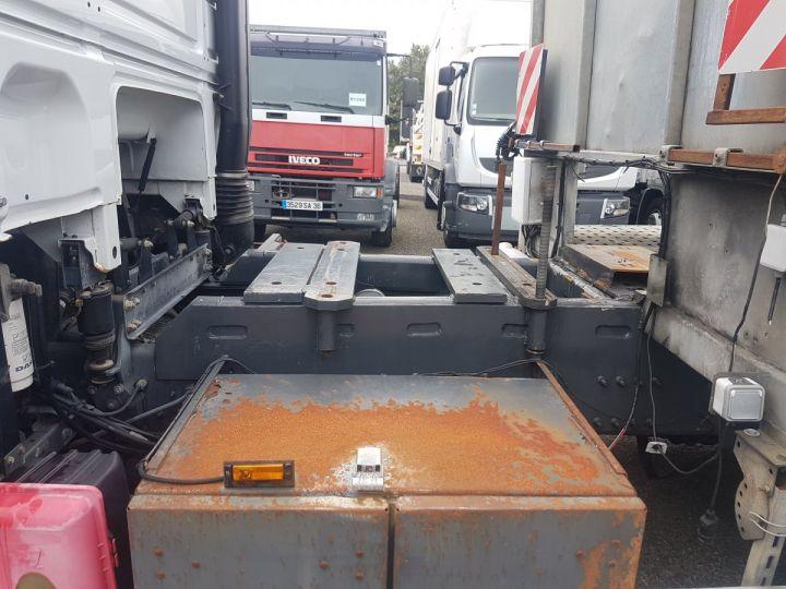 Camion porteur Daf XF105 Plateau 510 6x2/4 SPACECAB - Chassis 8 m. BLANC et VERT - 11