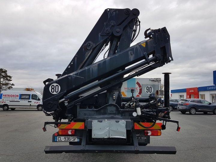 Camion porteur Renault Premium Plateau + grue 400.19 euro 2 + HIAB 129.3 GRIS - 9
