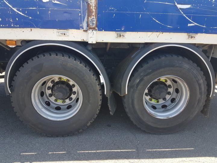 Camion porteur Scania P Plateau + grue 340 CB 6x4 + PALFINGER PK18500 BLANC - 14