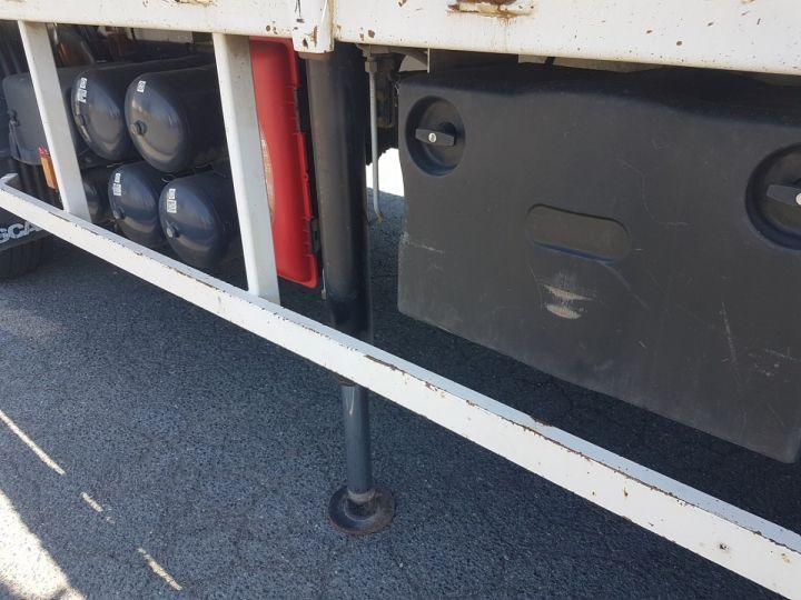 Camion porteur Scania P Plateau + grue 340 CB 6x4 + PALFINGER PK18500 BLANC - 15