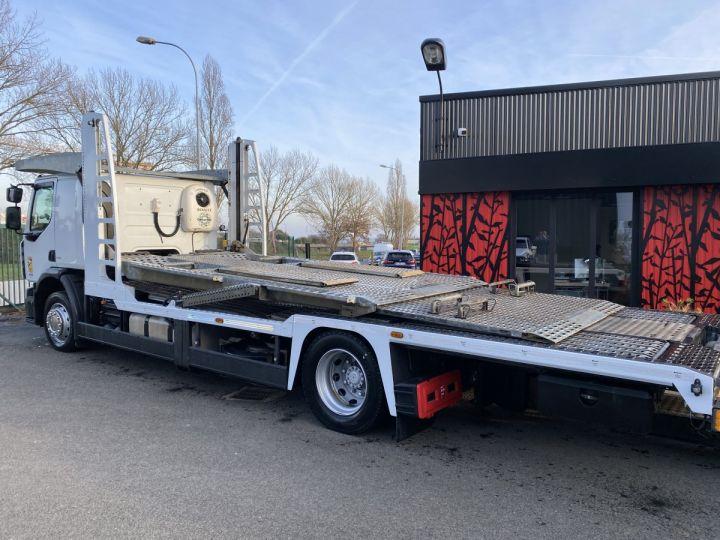 Camion porteur Renault Premium Plateau porte voiture  REMORQUE LOHR gris - 3