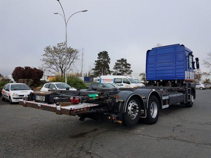 Camion porteur Renault Magnum Porte container 440dxi.26 6x2 S BLEU-GRIS-ORANGE - 2