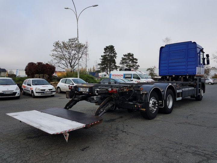 Camion porteur Renault Magnum Porte container 440dxi.26 6x2 S BLEU-GRIS-ORANGE - 3