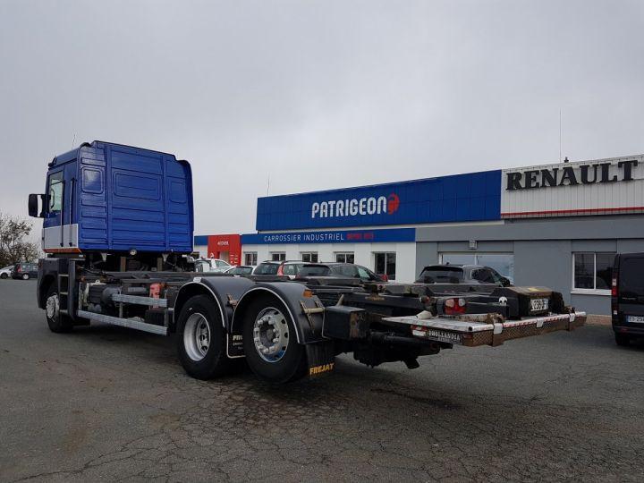 Camion porteur Renault Magnum Porte container 440dxi.26 6x2 S BLEU-GRIS-ORANGE - 5