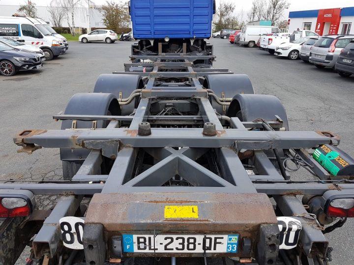 Camion porteur Renault Magnum Porte container 440dxi.26 6x2 S BLEU-GRIS-ORANGE - 7