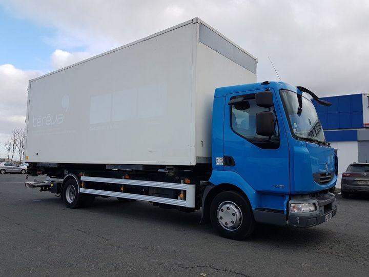 Camion porteur Renault Midlum Porte container 220dxi.12 CAISSE MOBILE + Hayon BLEU et BLANC - 5