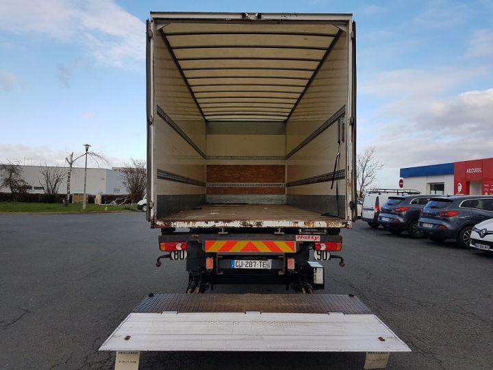 Camion porteur Renault Midlum Porte container 220dxi.12 CAISSE MOBILE + Hayon BLEU et BLANC - 7