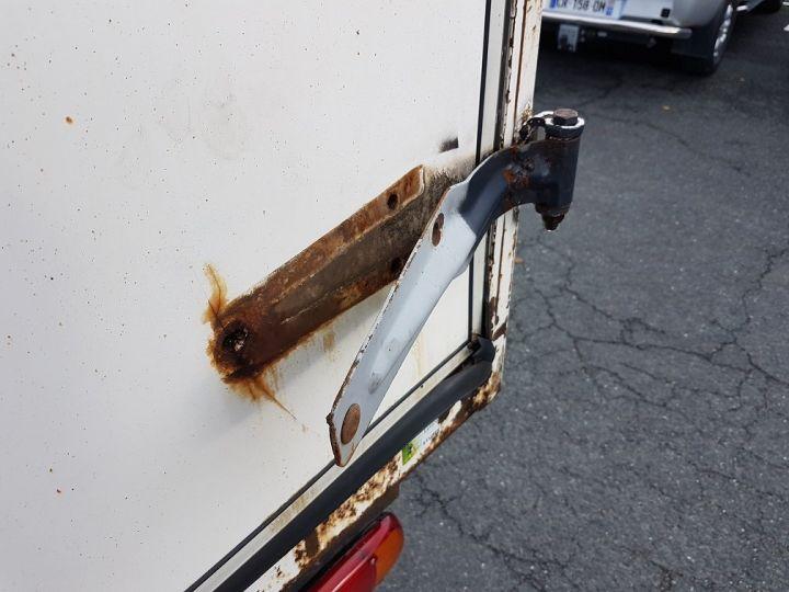 Camion porteur Renault Midlum Porte container 220dxi.12 CAISSE MOBILE + Hayon BLEU et BLANC - 10