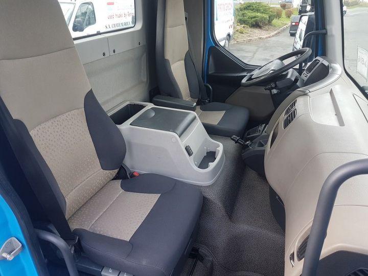 Camion porteur Renault Midlum Porte container 220dxi.12 CAISSE MOBILE + Hayon BLEU et BLANC - 18