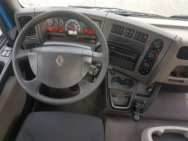 Camion porteur Renault Midlum Porte container 220dxi.12 CAISSE MOBILE + Hayon BLEU et BLANC - 19