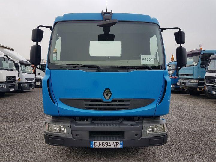 Camion porteur Renault Midlum Porte container 220dxi.12 PORTE-CAISSE 6m80 BLEU - 11