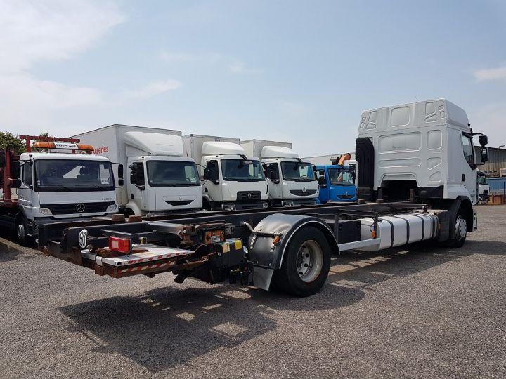 Camion porteur Renault Premium Porte container 410dxi.19 CAISSE MOBILE 7m80 BLANC - 2