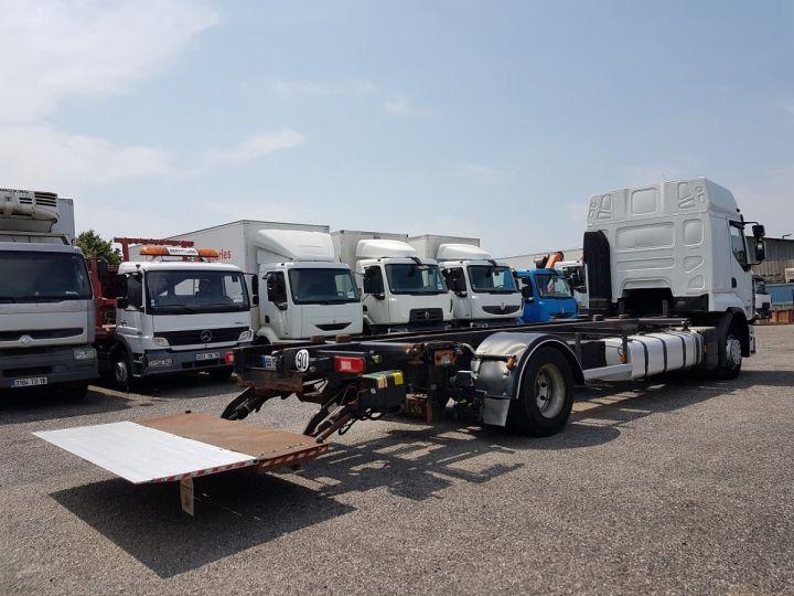 Camion porteur Renault Premium Porte container 410dxi.19 CAISSE MOBILE 7m80 BLANC - 3