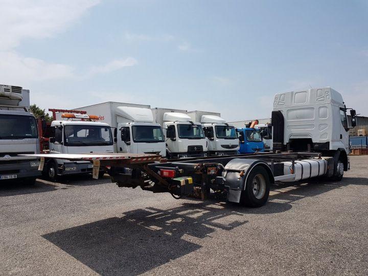 Camion porteur Renault Premium Porte container 410dxi.19 CAISSE MOBILE 7m80 BLANC - 4
