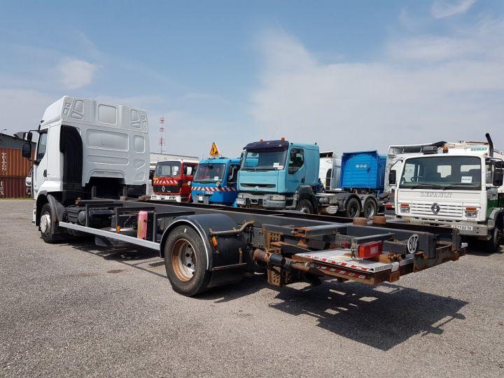 Camion porteur Renault Premium Porte container 410dxi.19 CAISSE MOBILE 7m80 BLANC - 6