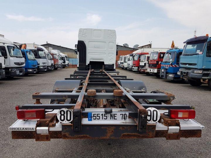 Camion porteur Renault Premium Porte container 410dxi.19 CAISSE MOBILE 7m80 BLANC - 7