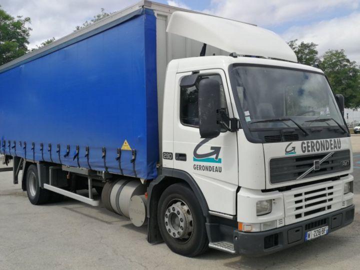 Camion porteur Volvo FM Porte container FM 7 . 290 4X2 BLANC - 1