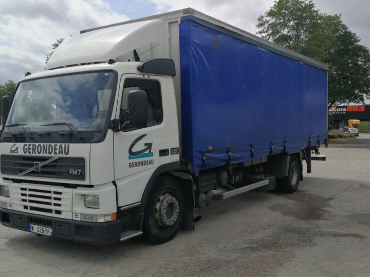Camion porteur Volvo FM Porte container FM 7 . 290 4X2 BLANC - 2