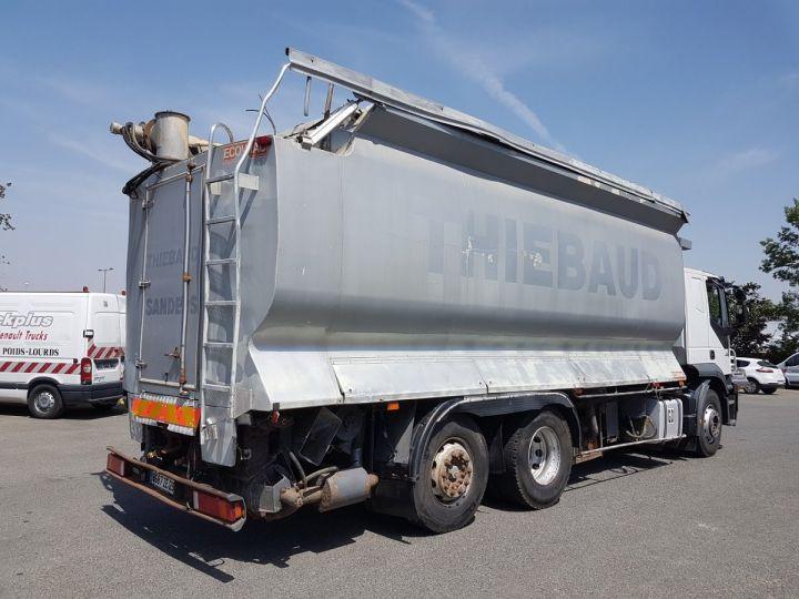 Camion porteur Iveco Stralis Citerne Pulvérulents AT 420 6x2 - 260 S 42 - ECOVRAC 33m3 BLANC et GRIS Occasion - 2