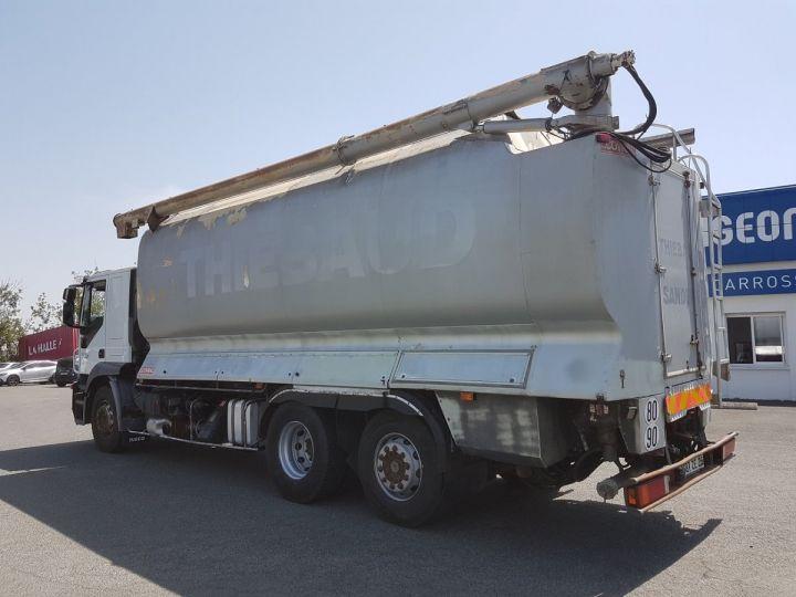 Camion porteur Iveco Stralis Citerne Pulvérulents AT 420 6x2 - 260 S 42 - ECOVRAC 33m3 BLANC et GRIS Occasion - 4