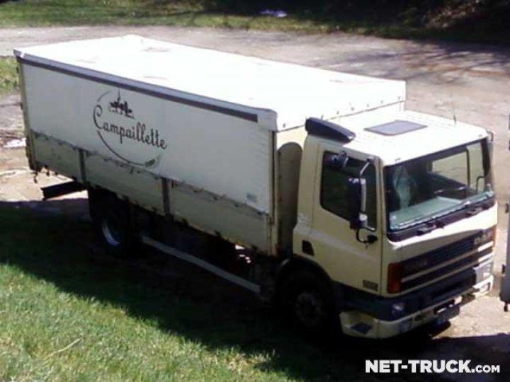 Camion porteur Daf CF Rideaux coulissants  - 1