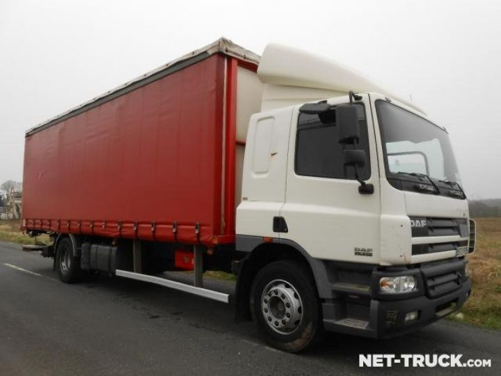 Camion porteur Daf CF Rideaux coulissants  - 4