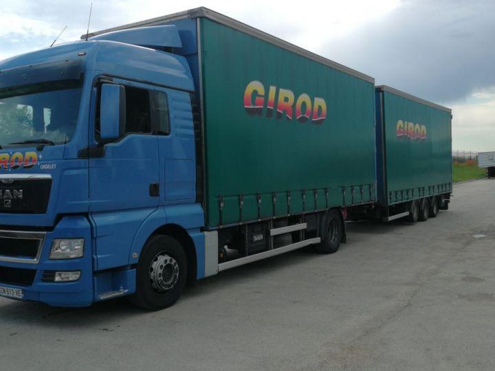 Camion porteur Man TGX Rideaux coulissants TGX 18.440 BLEU - 2
