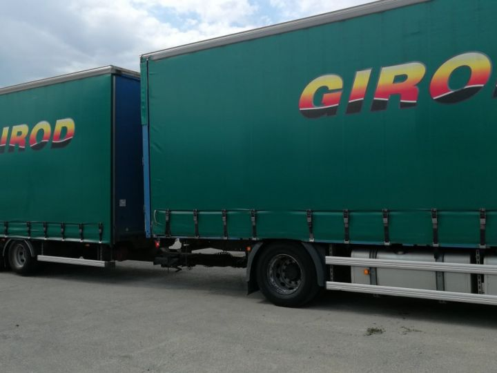 Camion porteur Man TGX Rideaux coulissants TGX 18.440 BLEU - 3