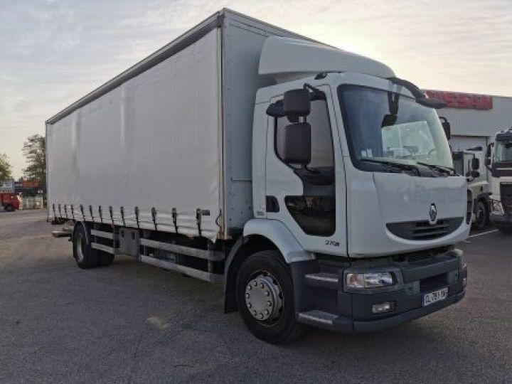 Camion porteur Renault Midlum Rideaux coulissants 270.18 BLANC - 2