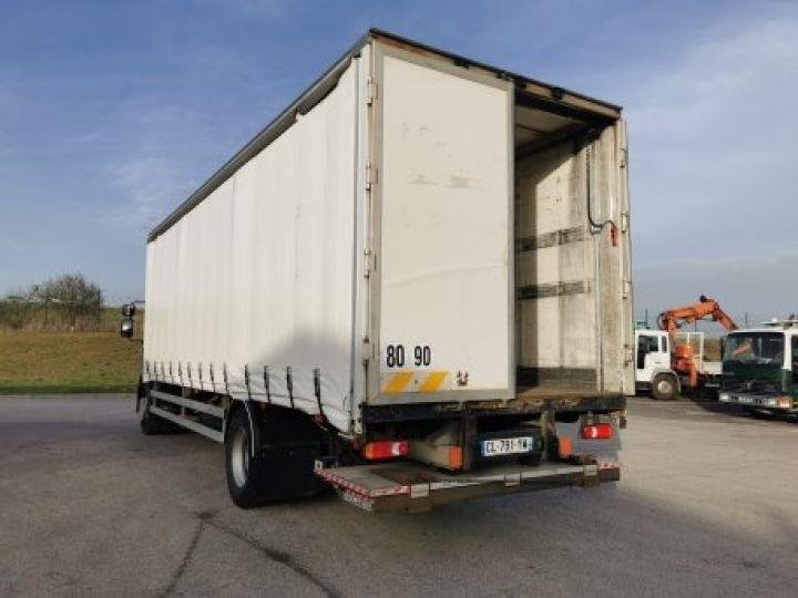 Camion porteur Renault Midlum Rideaux coulissants 270.18 BLANC - 5