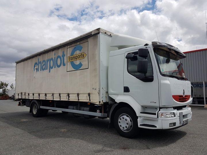 Camion porteur Renault Midlum Rideaux coulissants 270dxi.16 - OPTITRONIC BLANC - 4