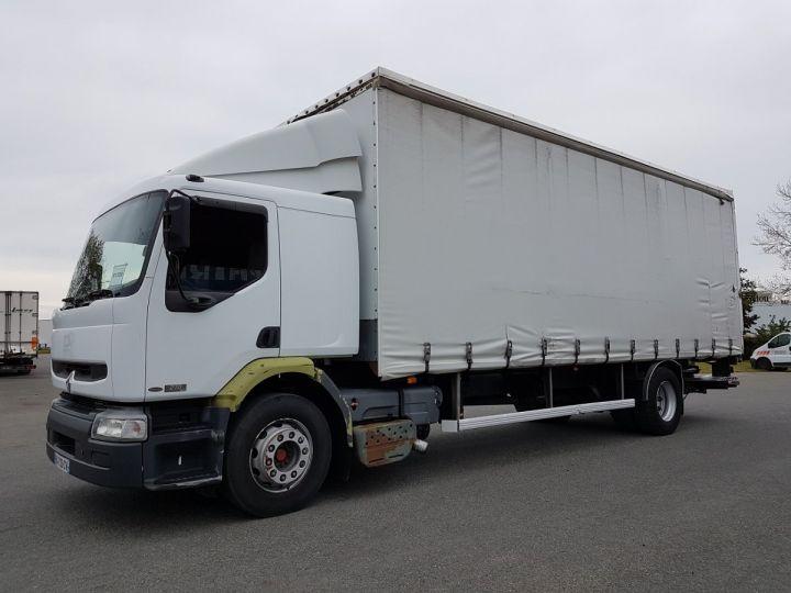 Camion porteur Renault Premium Rideaux coulissants 270dci.19D BLANC - 1
