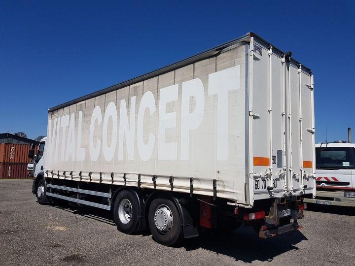 Camion porteur Renault Premium Rideaux coulissants 380dxi.26 6x2 - P.L.S.C. pour chariot embarqué BLANC - 4