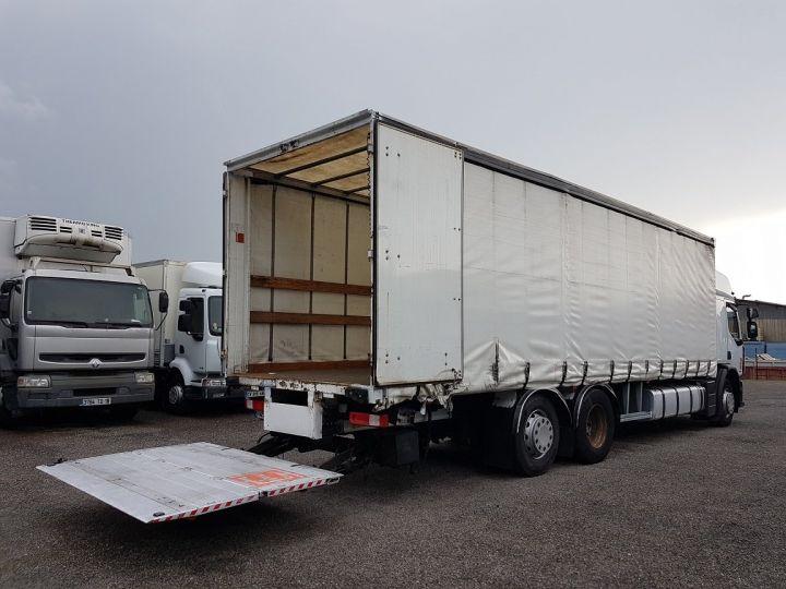 Camion porteur Renault Premium Rideaux coulissants 410dxi.26 6x2 S PRIVILEGE BLANC - 3