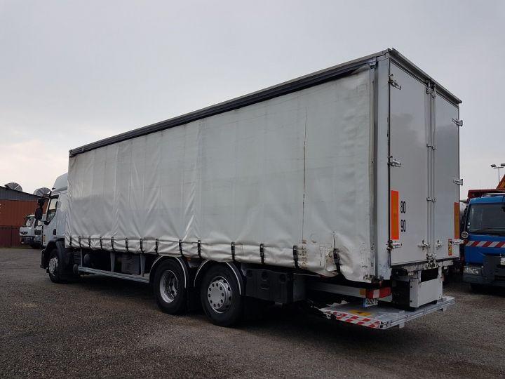 Camion porteur Renault Premium Rideaux coulissants 410dxi.26 6x2 S PRIVILEGE BLANC - 5