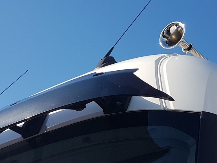 Camion porteur Renault T Rideaux coulissants 380.19 COMFORT BLANC - BLEU - 13
